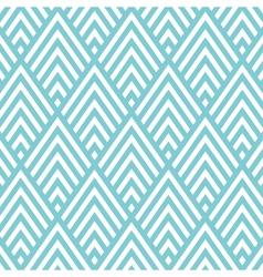 big triangle chevron pattern background vector image