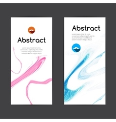 Abstract light bright elegant business banners vector image
