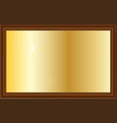 Award plaque vector
