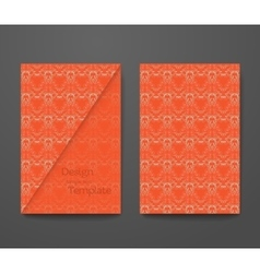 Business card with sample text vector
