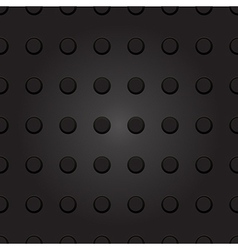 Technology background with seamless plastic dot vector image