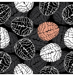 Brain seamless background  template for your vector