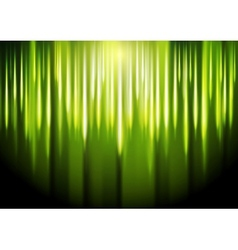 Bright green glowing backdrop Gradient mesh vector image