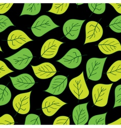Abstract background of green leaf vector