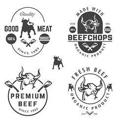 Beef shops vector