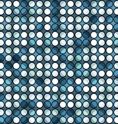 abstract blue circle seamless vector image