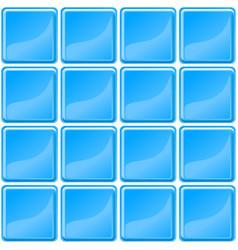 Blue tiles texture seamless vector