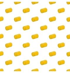 Haystack pattern cartoon style vector