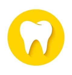 Tooth icon dental logo vector