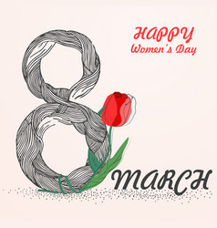 womens day1 vector image vector image