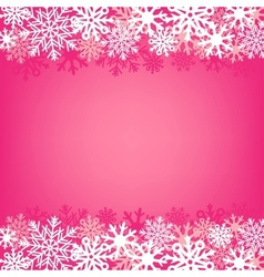Pink snow background vector