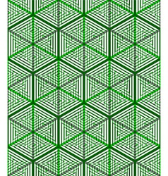 Colored abstract interweave geometric seamless vector
