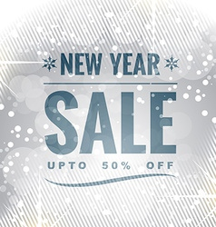 New year sale vector