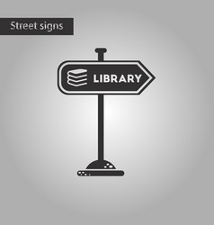 Black and white style icon sign library vector