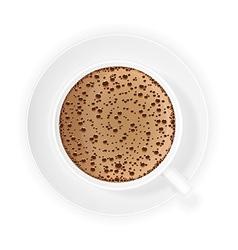coffee crema 01 vector image vector image