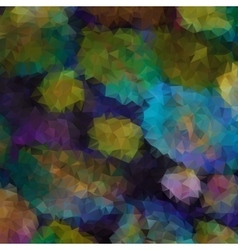 Painted style composition with angular shapes vector