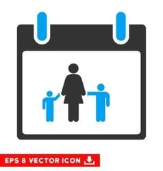 Mother Calendar Day Eps Icon vector image