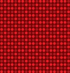 circle polka dots vector image