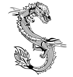 dagon china vector image