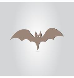 Icon Bat Happy Halloween Holiday vector image vector image
