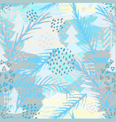 trendy abstract seamless pattern modern abstract vector image