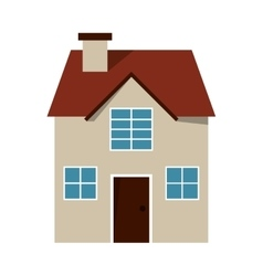 House frontview icon vector