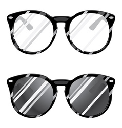 Hipster glasses2 vector