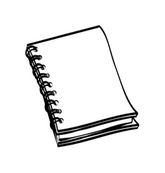 Notebook icon learning design graphic vector