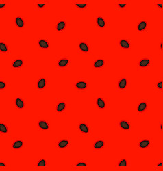 abstract watermelon seamless pattern vector image