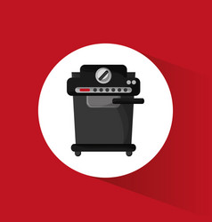 coffee machine fresh drink vector image