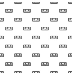 Label sale black friday pattern cartoon style vector