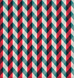 red tissue seamless pattern with blue stripes vector image