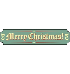 Santa workshop banner signs vector