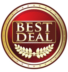 Best deal red label vector