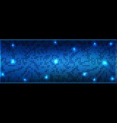 background abstract technology communication data vector image vector image