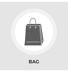 Bag store single icon vector image vector image