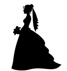 bride vector image vector image