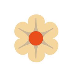spa lotus symbol vector image