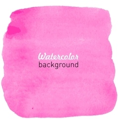 Watercolor hand drawn background vector