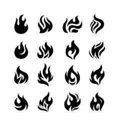 Fire flames vector