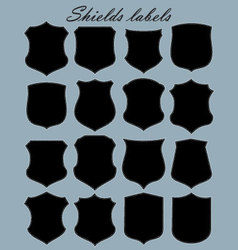 Shields labels - set vector