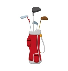 Golf club icon sport concept graphic vector
