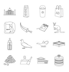 Religion cooking animal and other web icon in vector