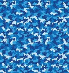Seamless digital camouflage vector