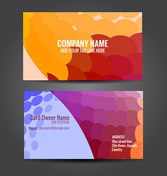 stylish business template design vector image vector image