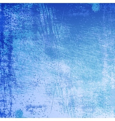 Texture Scratched Frost Vignetted vector image
