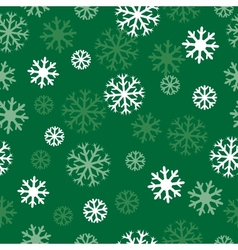 Snow green pattern vector