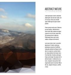 Business template for brochure magazine flyer vector