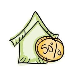 House economy symbol vector