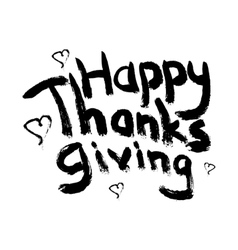 Thanksgivingheart vector